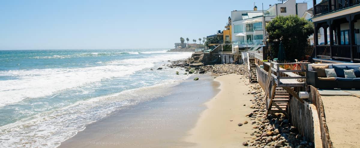 Shabby Chic Malibu Beach House - Ocean Level in Malibu Hero Image in Eastern Malibu, Malibu, CA