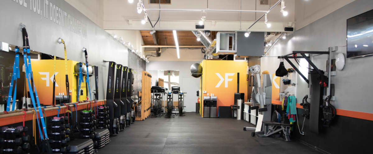 Boutique Fitness Studio Open Concept in Redwood City Hero Image in Friendly Acres, Redwood City, CA
