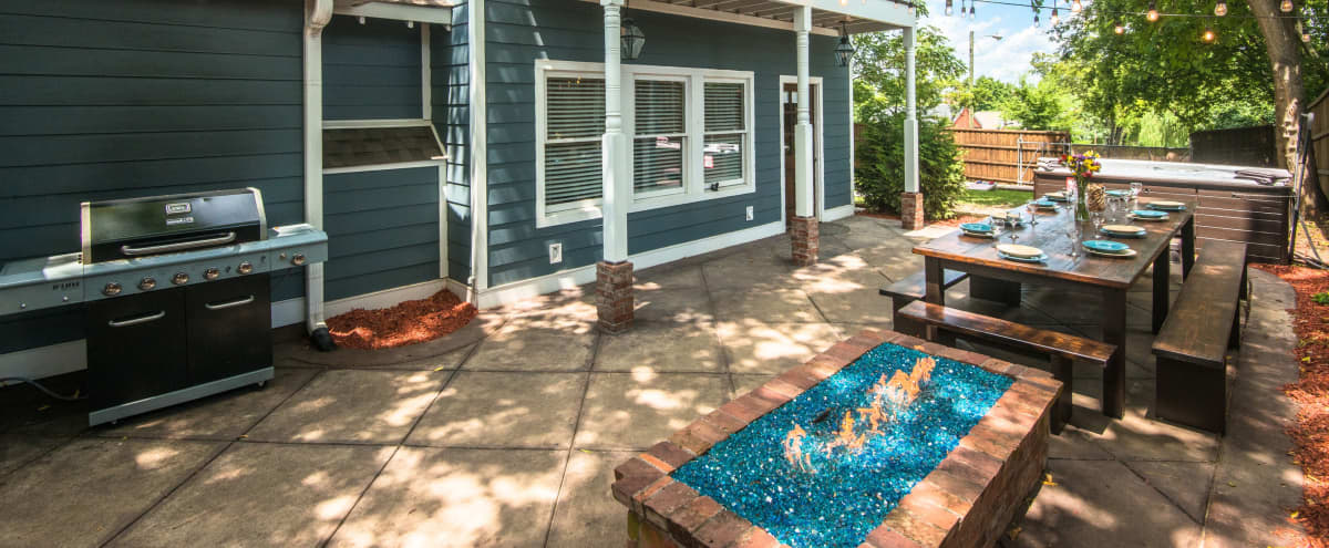 Big Blue - Large Family Home with Open Floor Plan and Huge Outdoor Space in Nashville Hero Image in East End, Nashville, TN
