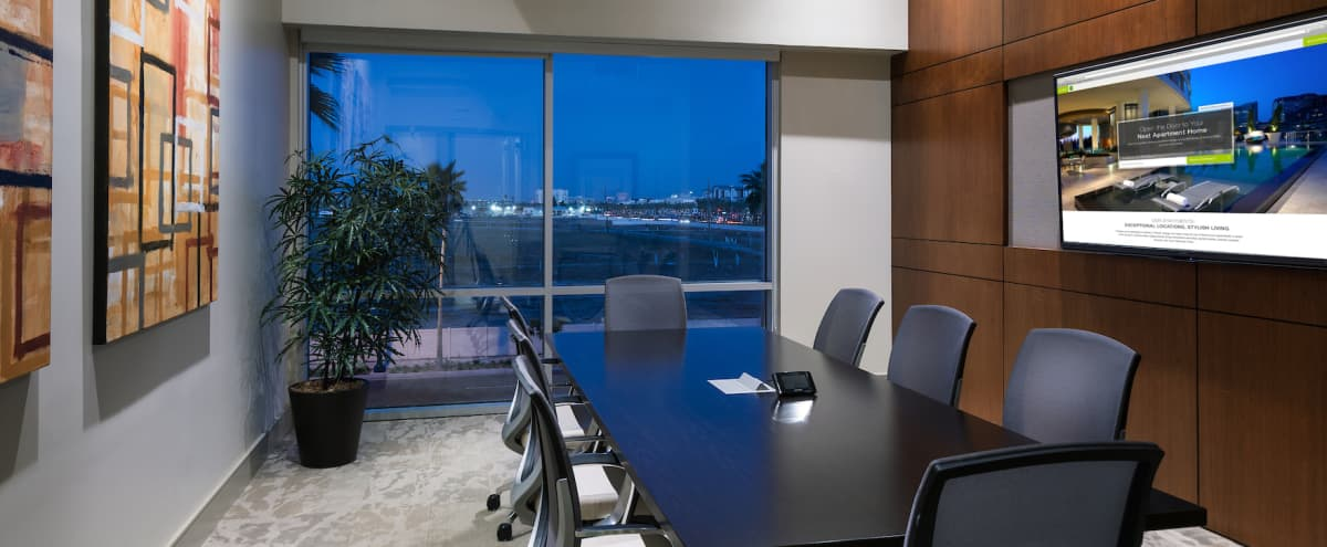 Spacious Executive Conference Room in Anaheim in Anaheim Hero Image in Platinum Triangle, Anaheim, CA
