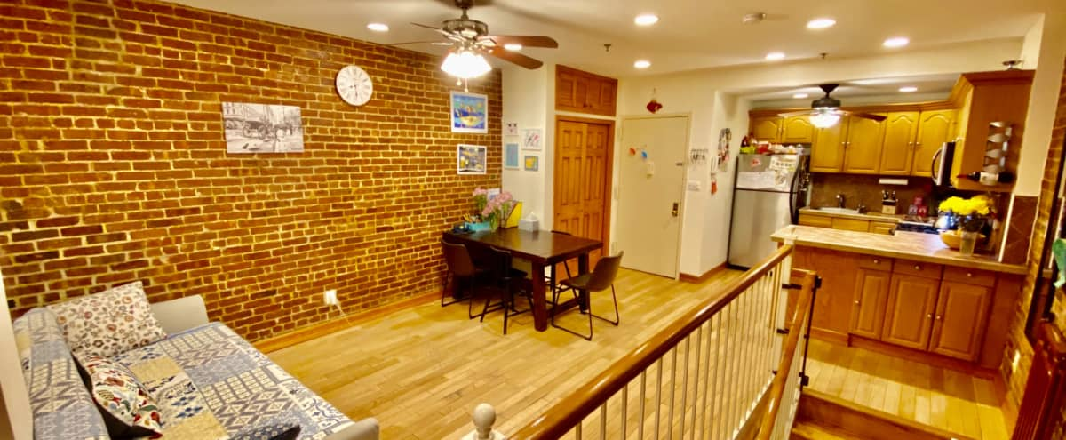 Wonderful Duplex Apartment with a Lovely Terrace in New York Hero Image in Lincoln Square, New York, NY
