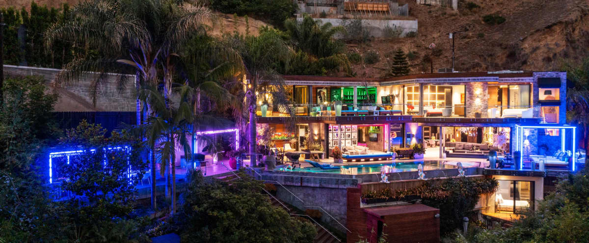 Astounding Abstract Hollywood Hills Mansion in West Hollywood Hero Image in Central LA, West Hollywood, CA