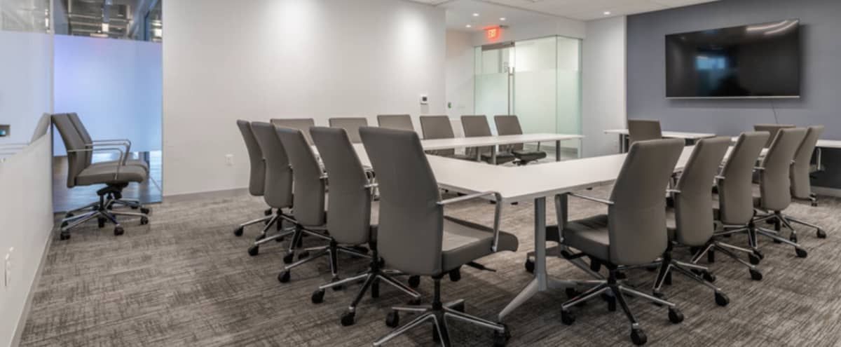 Fully Equipped 35 Person Conference Space Inside Luxurious Environment in McLean Hero Image in undefined, McLean, VA