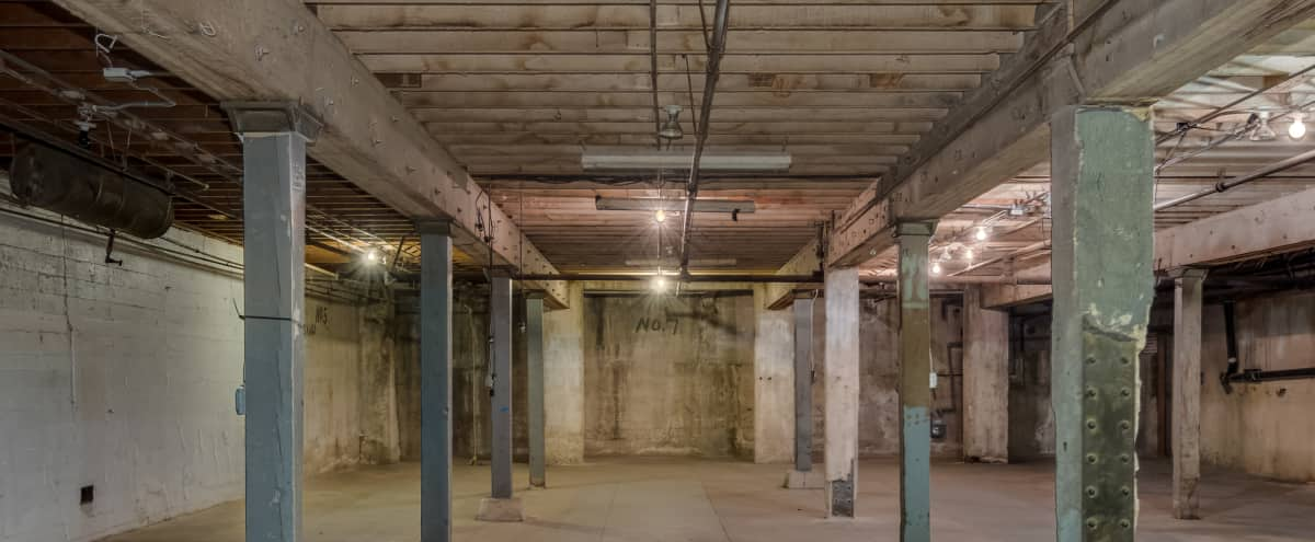 DTLA's Textured Underground! | Industrial Basement in One of a Kind Warehouse! in Los Angeles Hero Image in Central LA, Los Angeles, CA