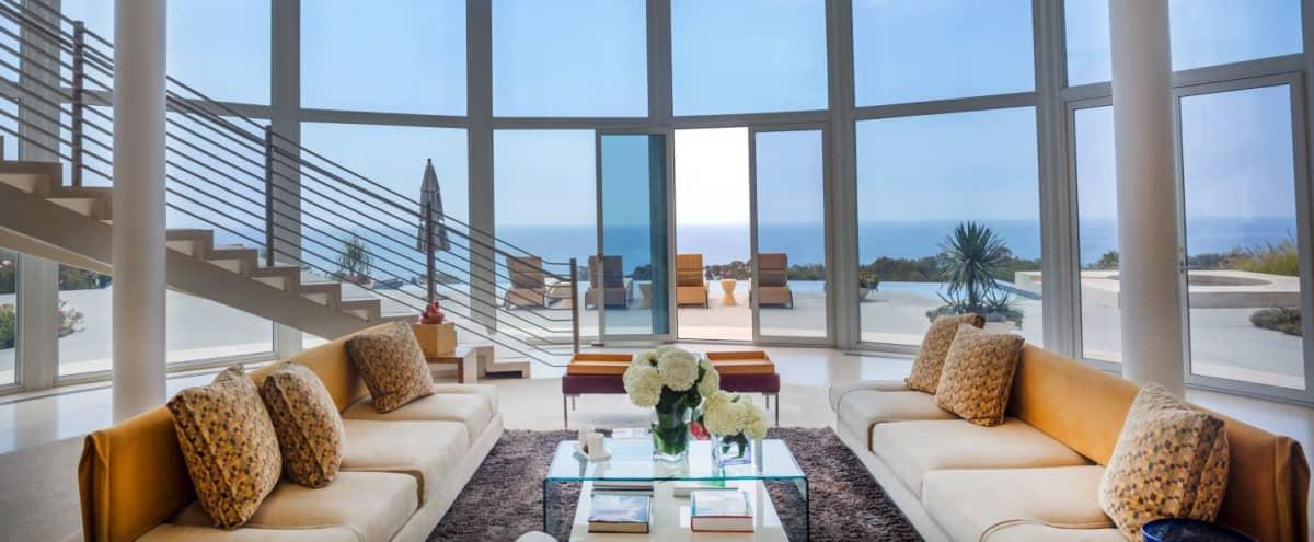 Futuristic Modern Home - The Sea Glass in East Malibu Hero Image in Central Malibu, East Malibu, CA