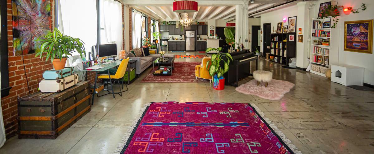 Eclectic Downtown Artist Loft + Creative Studio in Los Angeles Hero Image in Central LA, Los Angeles, CA