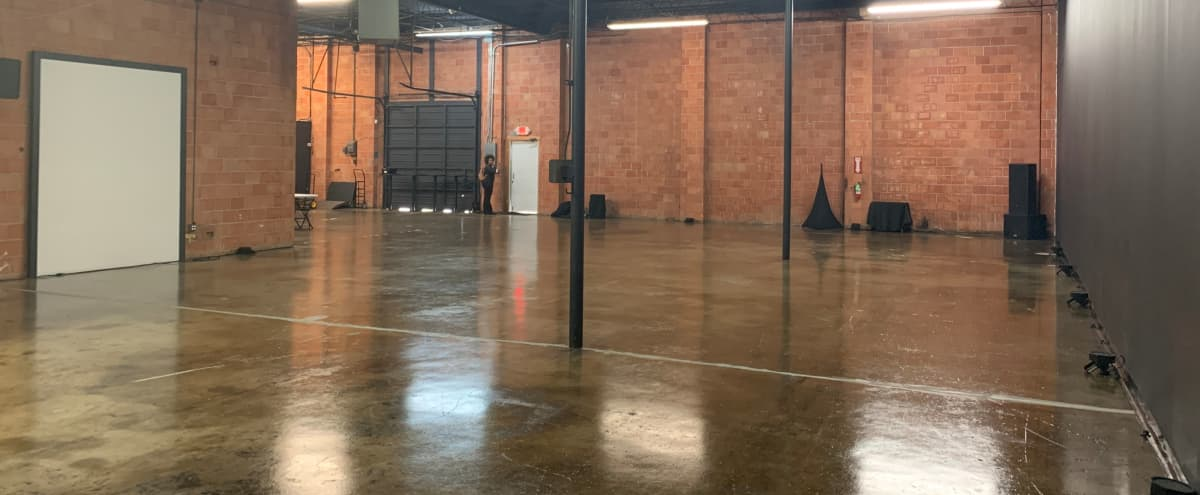 Spacious, Multi-Use Warehouse with In-House AV Available in Houston Hero Image in Westside, Houston, TX