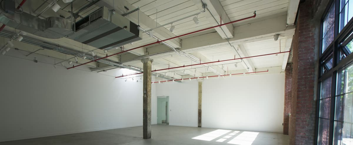 Bright, Large, Loft style Office Space in Brooklyn Hero Image in Greenpoint, Brooklyn, NY