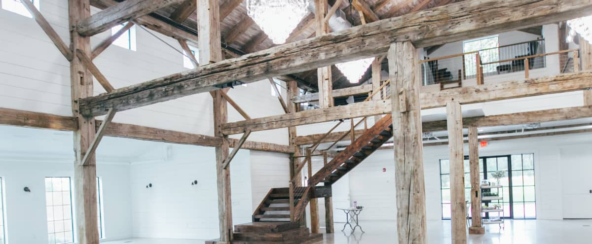 Quiet space near the city, contemporary 200 yr old barn, great lighting in Magnolia Hero Image in undefined, Magnolia, TX