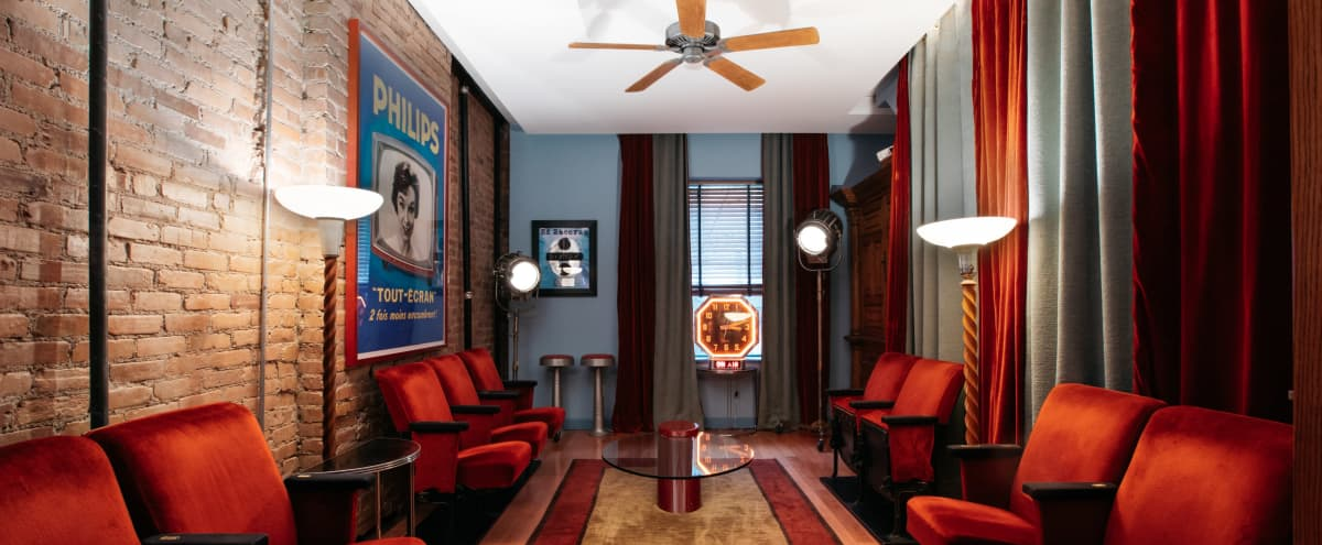 Exceptional Art Deco Designed NYC Townhouse in New York Hero Image in Hamilton Heights, New York, NY