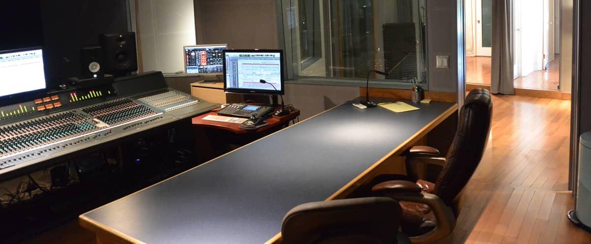 Recording Studio with Grand Piano in Chatsworth Hero Image in Chatsworth, Chatsworth, CA