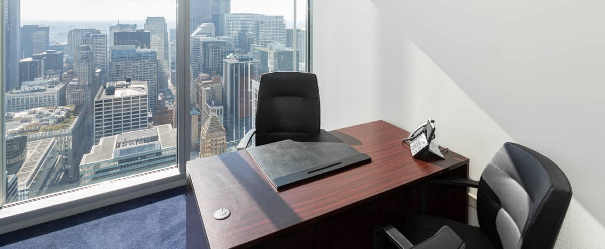 Premium Private Office in River North | Amazing City View! in Chicago Hero Image in River North, Chicago, IL
