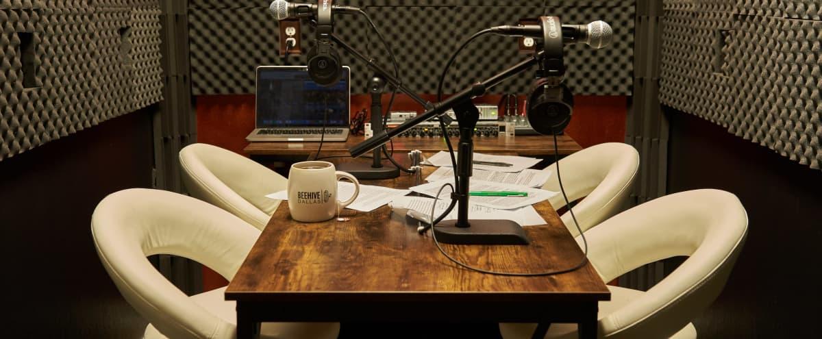 Podcast Studio in Dallas Hero Image in Design District, Dallas, TX
