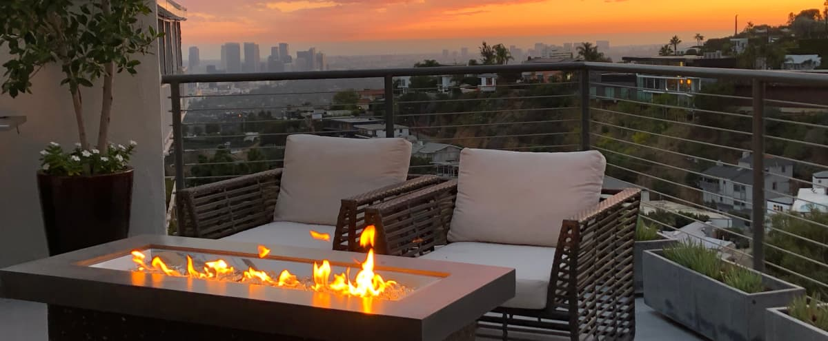 Hollywood Hills Home With Jetliner Views in Los Angeles Hero Image in Central LA, Los Angeles, CA