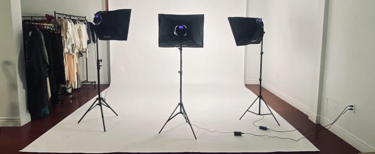 Photo/Video Studio w/ Multi Colored Backdrops + Lighting in Los Angeles Hero Image in Central LA, Los Angeles, CA