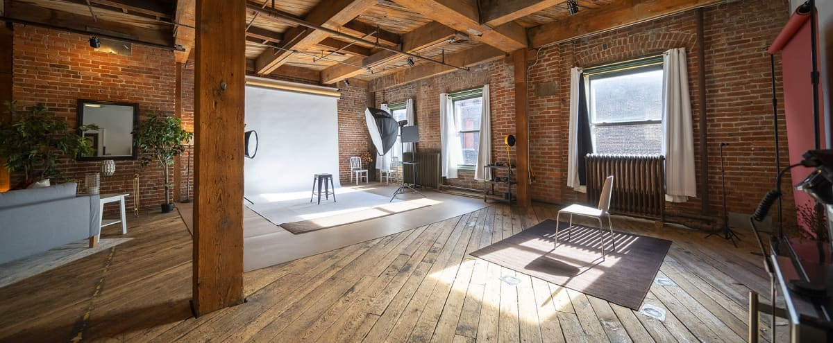 Large Exposed Brick Downtown Production Space in Kansas City Hero Image in West Bottoms, Kansas City, MO
