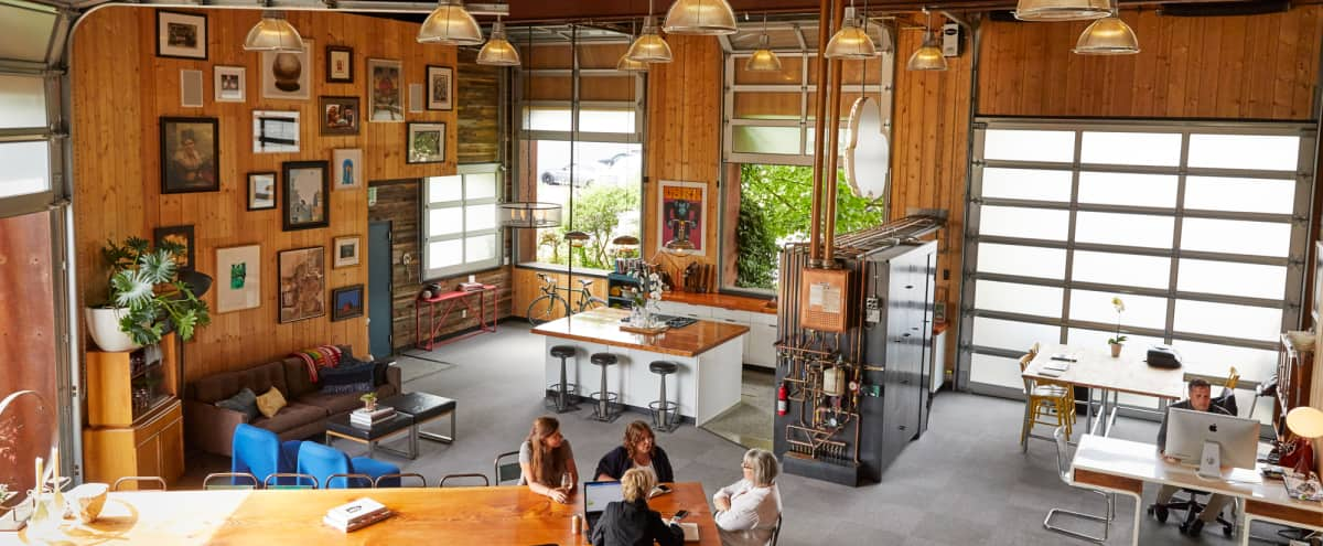 Converted Industrial Warehouse into One-Of-a-Kind Urban Space in Seattle Hero Image in Fremont, Seattle, WA