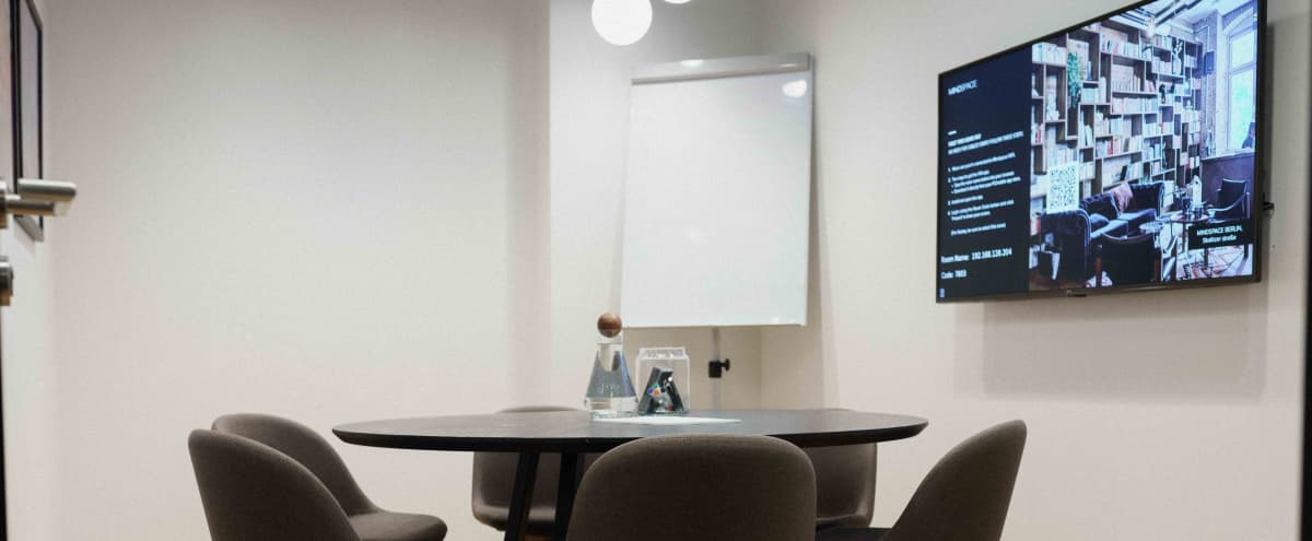 Private Meeting Room | M5 in Washington Hero Image in Northwest Washington, Washington, DC