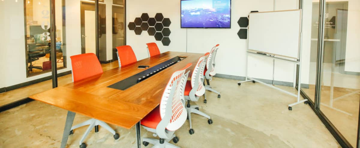 Fully Equipped Conference Room in San Diego Hero Image in East Village, San Diego, CA