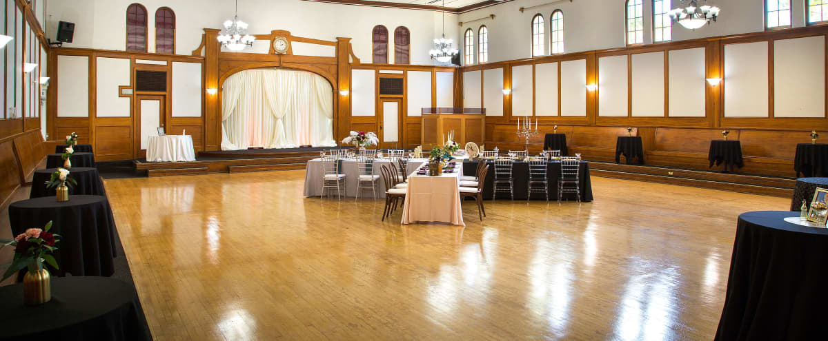 Historical Spacious Ballroom Built in 1927 with Additional Rooms and Lobby in Fullerton Hero Image in undefined, Fullerton, CA