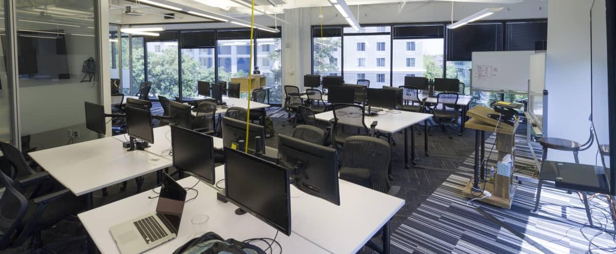 Spacious Coworking Production Space in Tech Environment in Atlanta Hero Image in Buckhead, Atlanta, GA