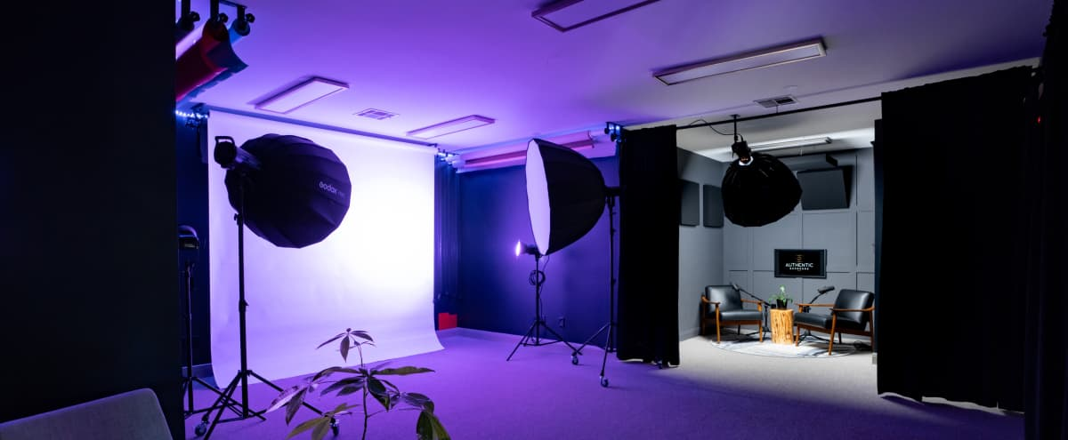 Centrally Located Photo, Video & Sound Studio - Shoot content, Podcast, & Vodcast in Austin Hero Image in Treemont, Austin, TX