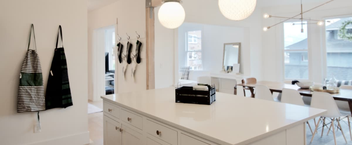Light Filled Remodeled Home in Urban Setting in Seattle Hero Image in Queen Anne, Seattle, WA