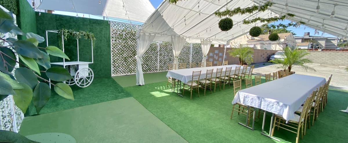 Chic Elegant Parisian-Style Venue (+Lush Patio/Tent Add-On Available!) in Burbank Hero Image in undefined, Burbank, CA