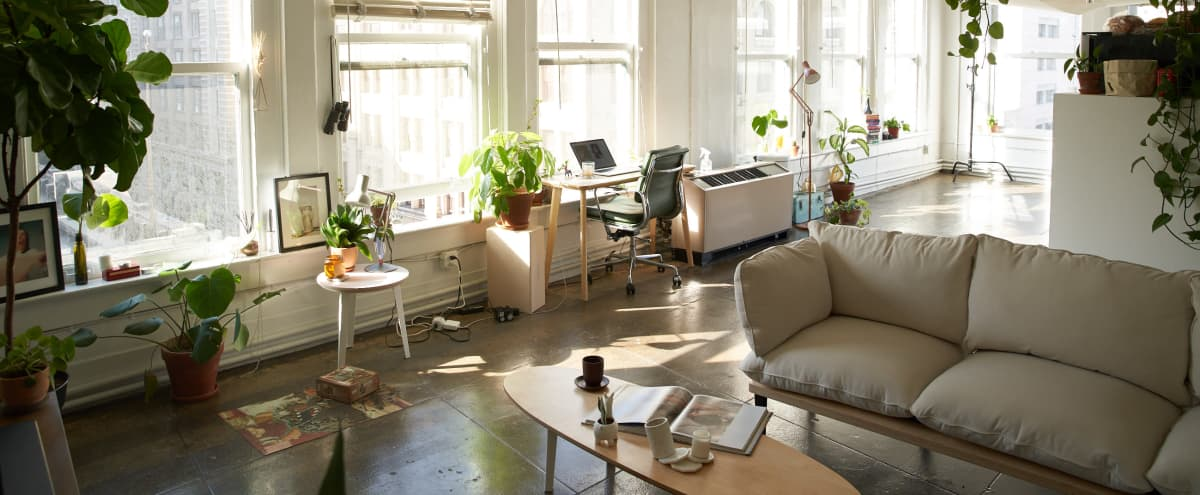 Downtown Loft with Natural Light in Los Angeles Hero Image in Central LA, Los Angeles, CA