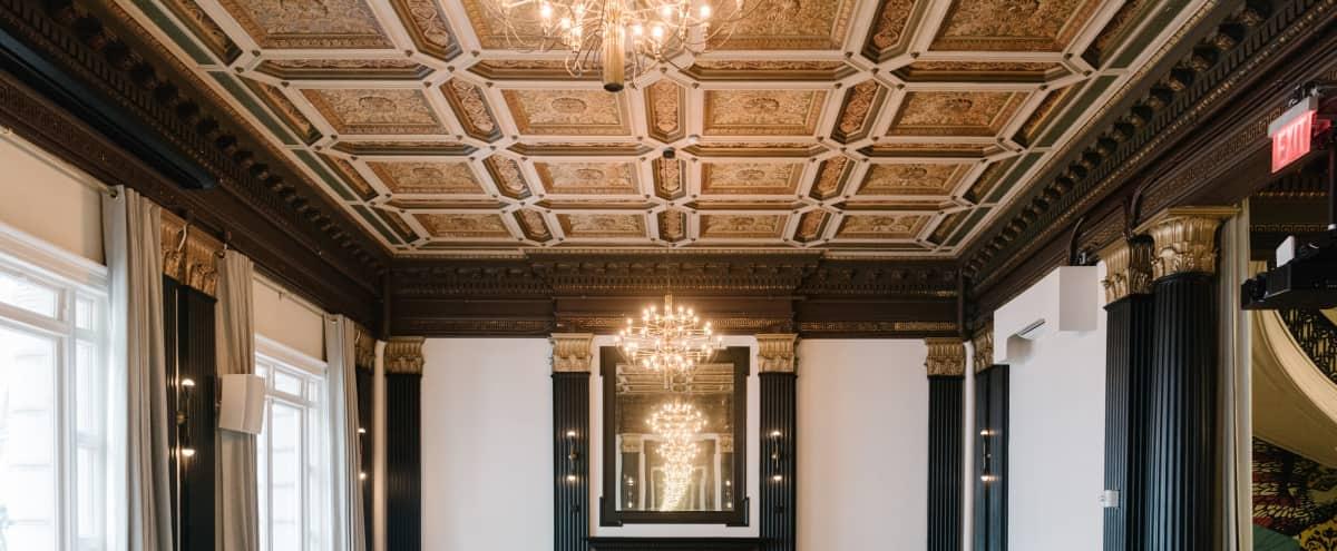 Elegant ballroom overlooking beautiful Bryant Park in New York Hero Image in Midtown Manhattan, New York, NY