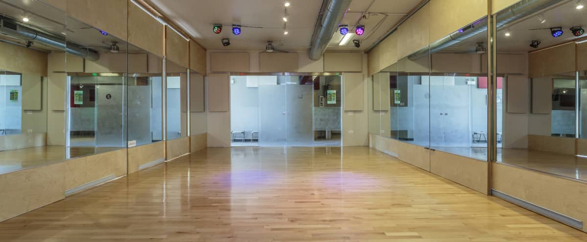 20 Person Dance Studio | South Loop | Studio 3 in Chicago Hero Image in South Loop, Chicago, IL