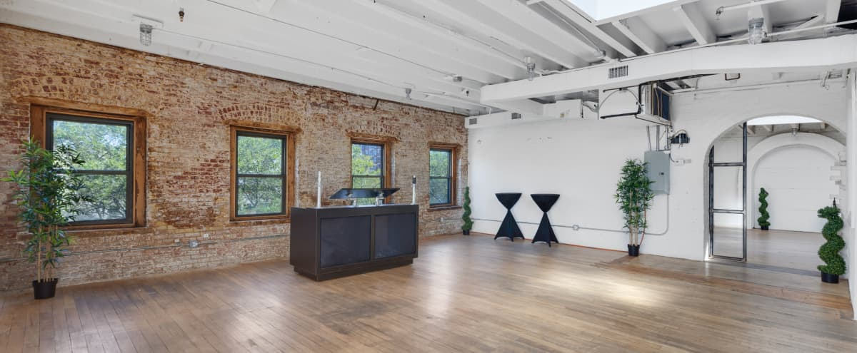 Premier Sun-drenched Penthouse Loft with Outdoor Terrace & Skylights in LES/Chinatown in New York Hero Image in Chinatown, New York, NY