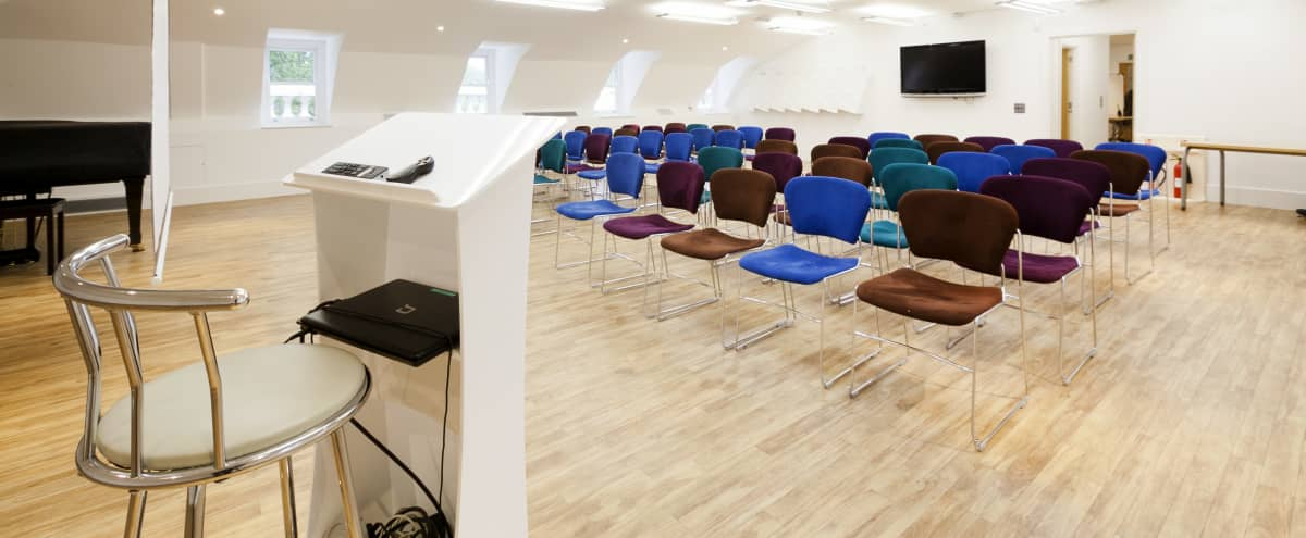 Flexible, Creative Meeting Spaces in Literary Bloomsbury in London Hero Image in Bloomsbury, London,