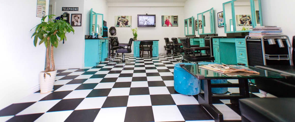 Spacious 50s Themed Vintage Beauty Salon in Glendale Hero Image in Grandview, Glendale, CA