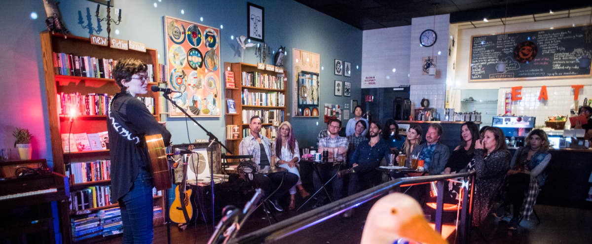 Parlor Bar and Performance Space in Bookstore in Oakland Hero Image in Downtown Oakland, Oakland, CA