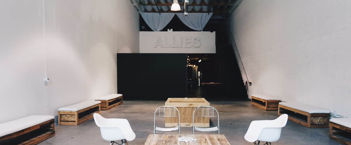 DTLA Industrial Storefront Warehouse with High Ceilings For Filming & Production in Los Angeles Hero Image in Downtown, Los Angeles, CA