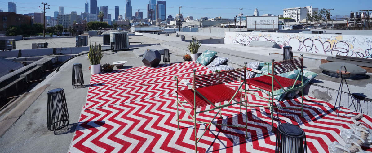 DTLA Roof Top With Skyline View in los angeles Hero Image in Downtown Los Angeles, los angeles, CA
