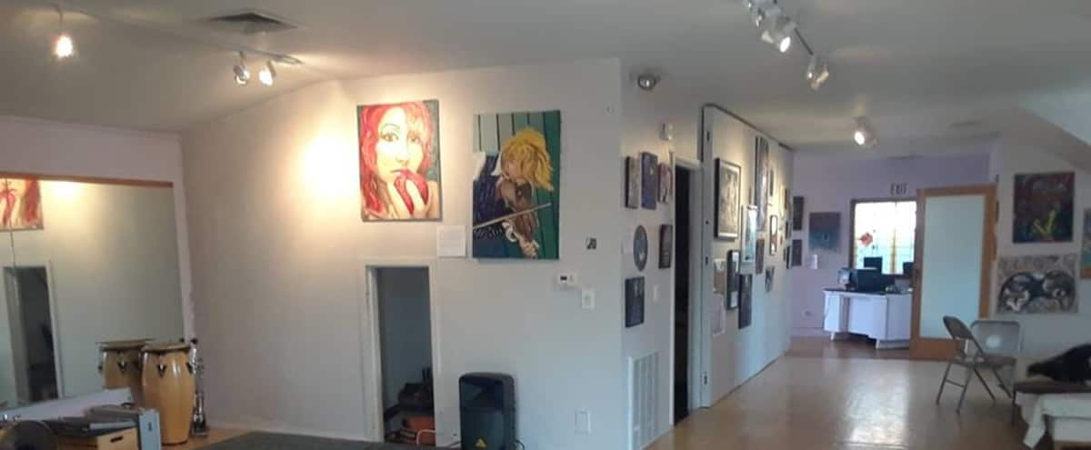 Unique Art Gallery & Event Space in Somerville Hero Image in Powder House Square, Somerville, MA