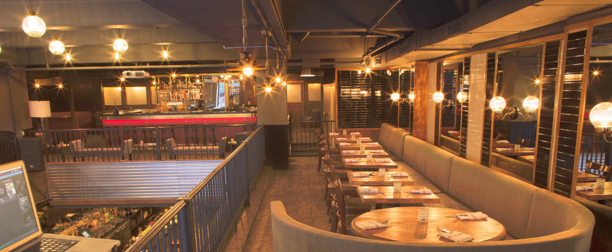 Midtown Gastropub with Reserved Event Area (Mezzanine) in New York Hero Image in Midtown, New York, NY