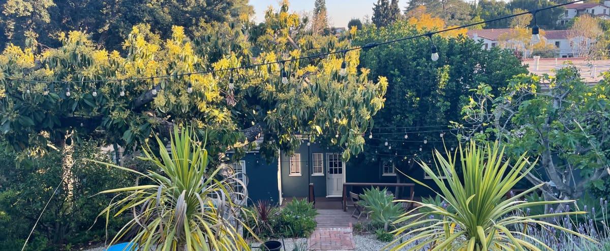 A private backyard oasis with views in Los Angeles Hero Image in Los Feliz, Los Angeles, CA