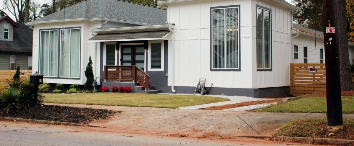Beautifully Designed Spacious Modern Home In Perfect Location With Huge Backyard in Atlanta Hero Image in East Lake, Atlanta, GA