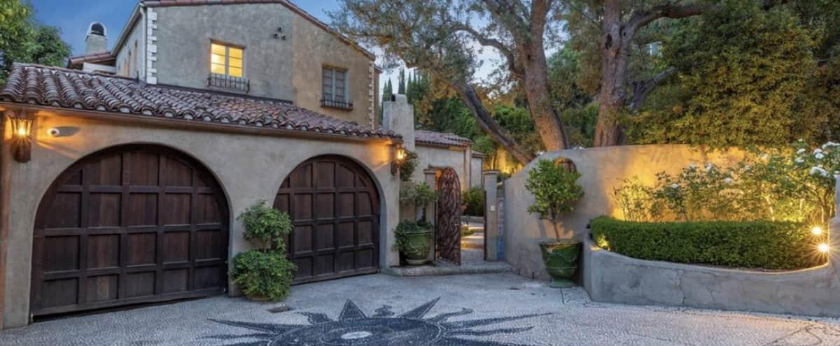 Lush Mediterranean Villa in the Doheny Hollywood Hills in Los Angeles Hero Image in Central LA, Los Angeles, CA