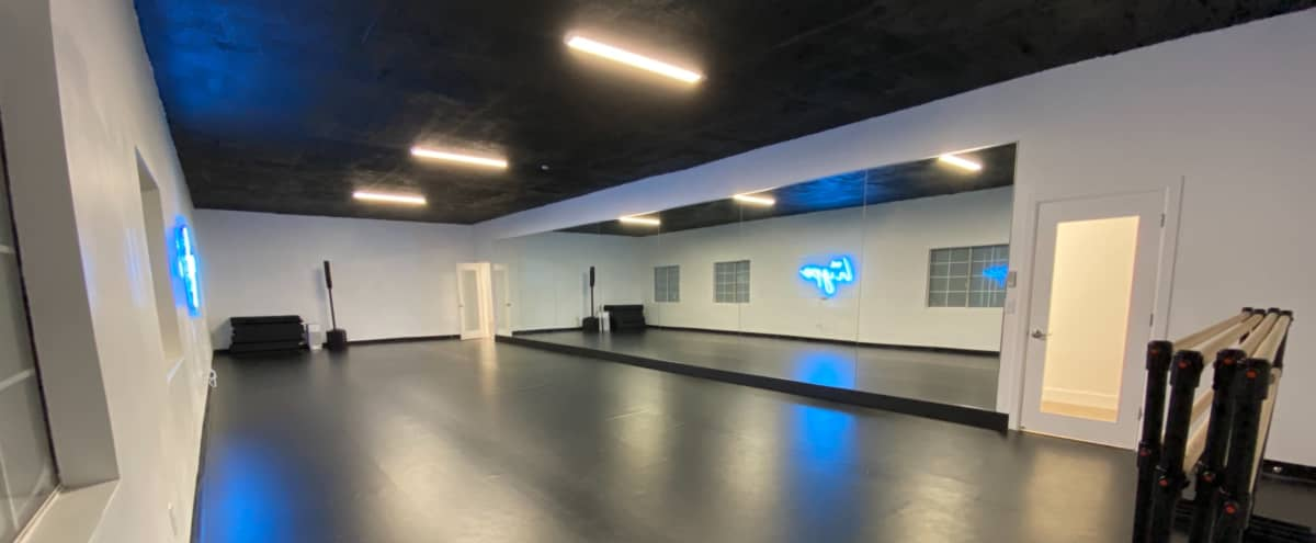 Modern Eclectic Dance Studio in Los Angeles Hero Image in Central LA, Los Angeles, CA