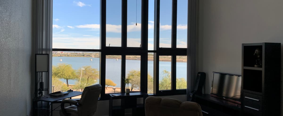 Lake View Loft with Mountain Sunrise Views in Tempe Hero Image in undefined, Tempe, AZ
