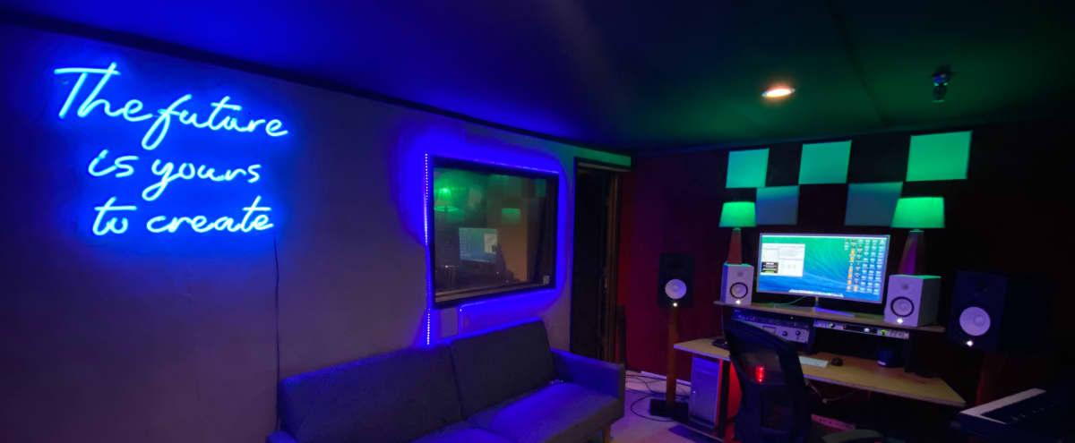 Recording studio in downtown LA. in Los Angeles Hero Image in University Park, Los Angeles, CA
