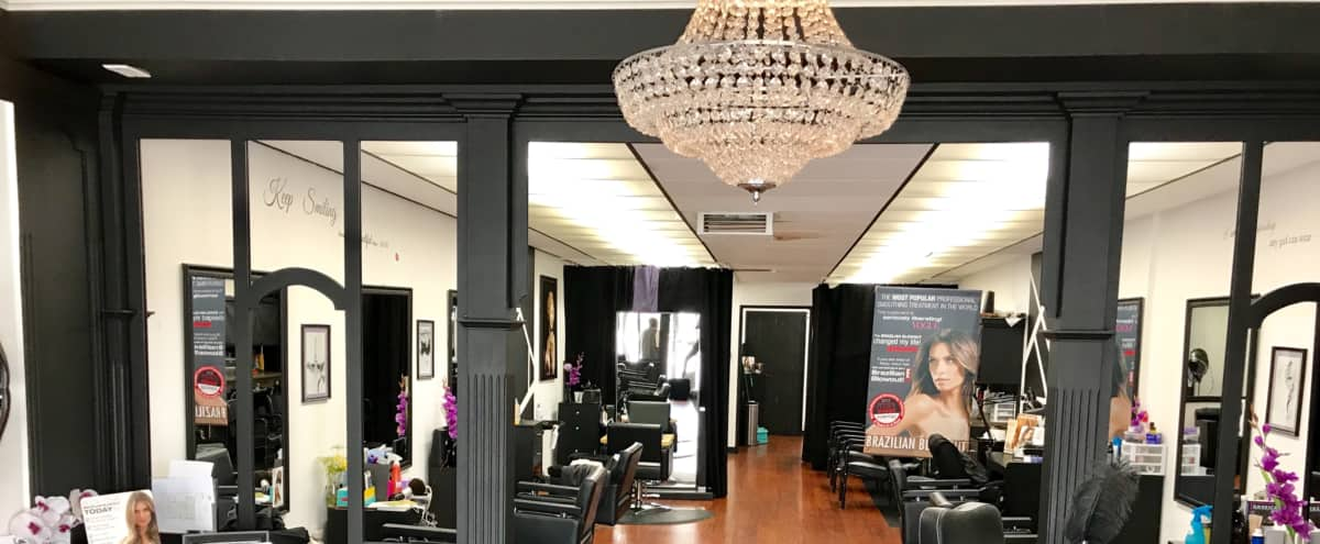 Trendy clean hair studio in San Fernando valley in Mission hills Hero Image in Mission Hills, Mission hills, CA