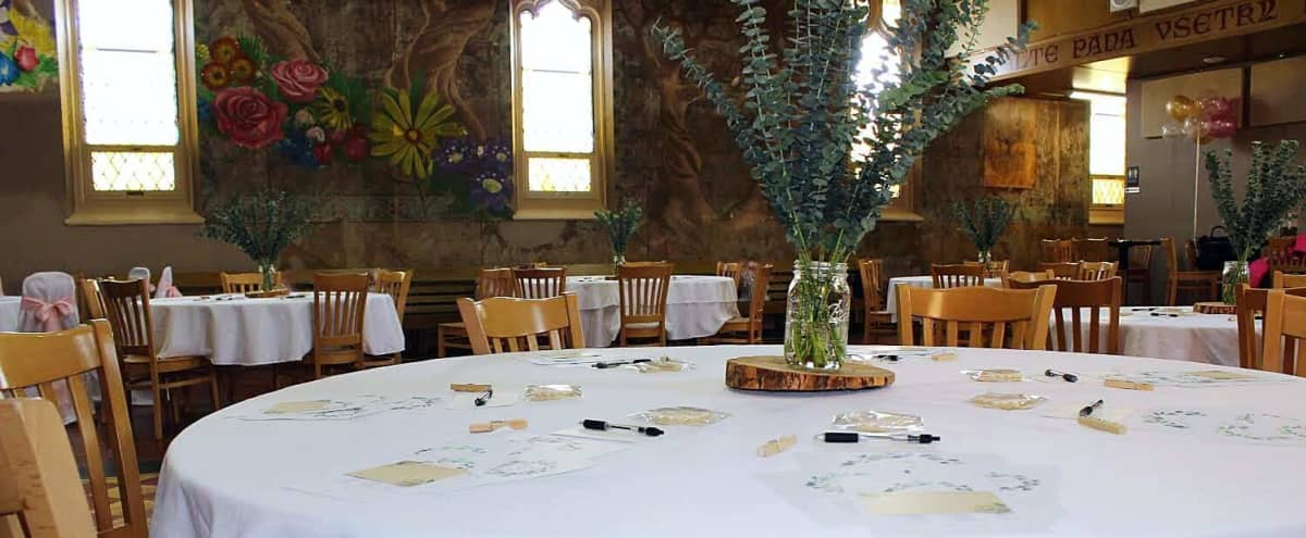 Unique Event Space in Former Historic Church Renovated to fit Today's World in Tarentum Hero Image in West Tarentum, Tarentum, PA