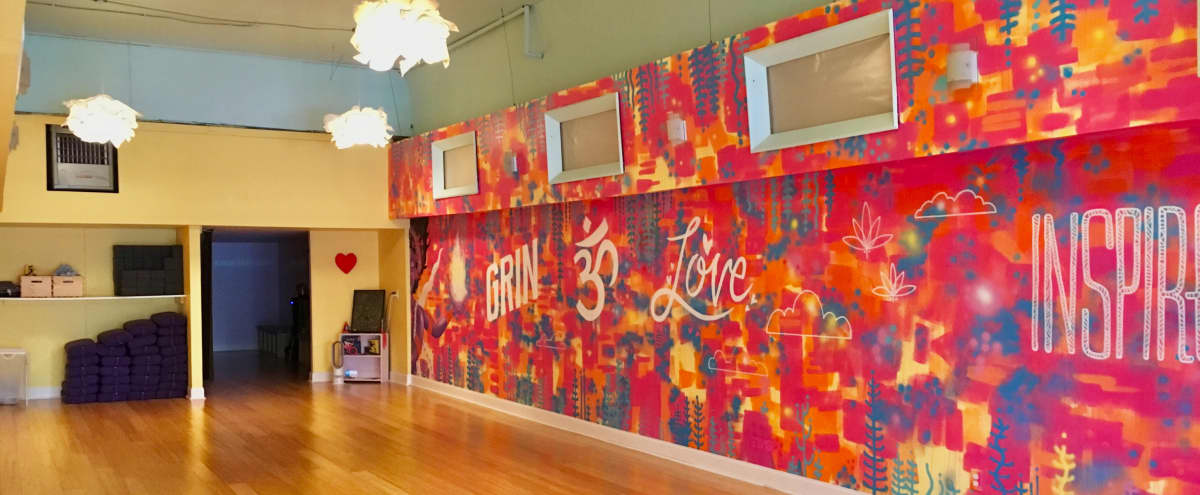 Chic Open and Spacious Yoga Studio in Seattle Hero Image in Northwest Seattle, Seattle, WA