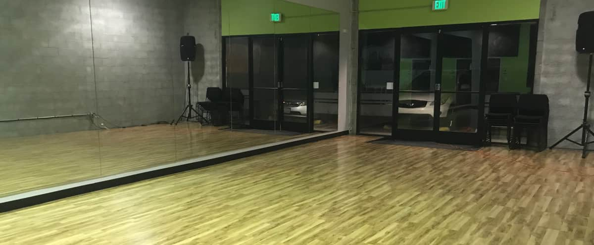 Conekt-L.A. Art Center: 2 professional dance studios are available with 8 foot mirrors, high ceilings, and JBL speakers. in N Hollywood Hero Image in Panorama City, N Hollywood, CA