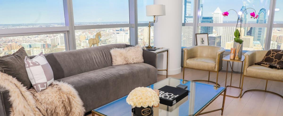 Luxury Apartment - Center City Skyline View in Philadelphia Hero Image in University City, Philadelphia, PA